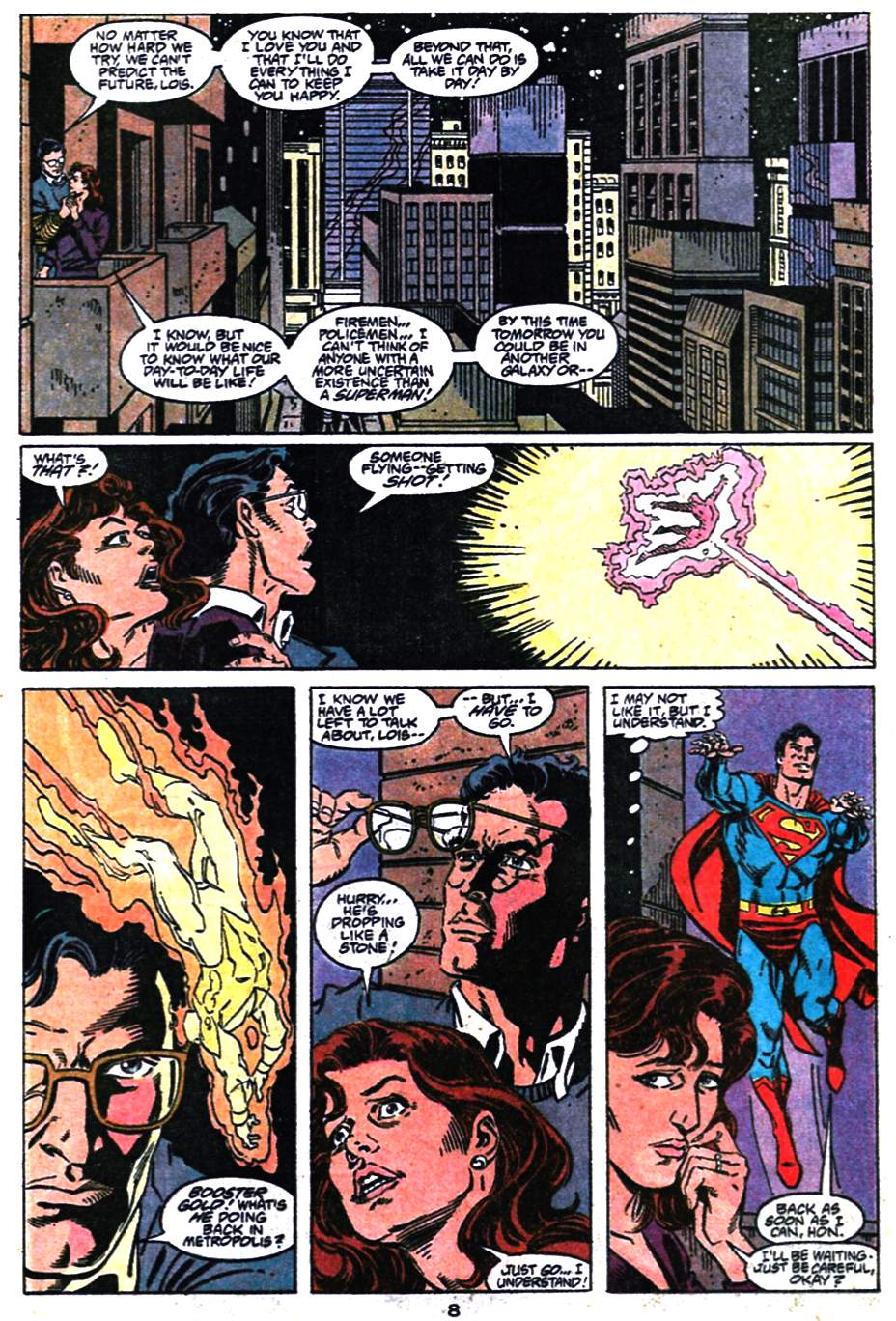 Read online Adventures of Superman (1987) comic -  Issue #476 - 9
