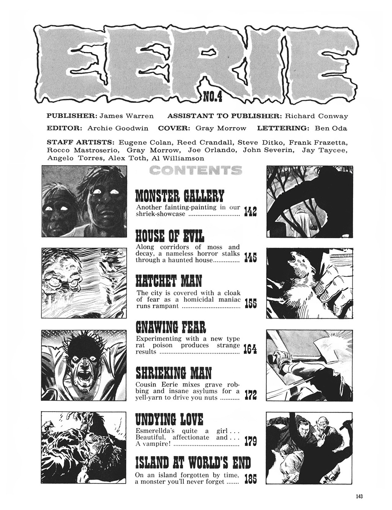 Read online Eerie Archives comic -  Issue # TPB 1 - 144