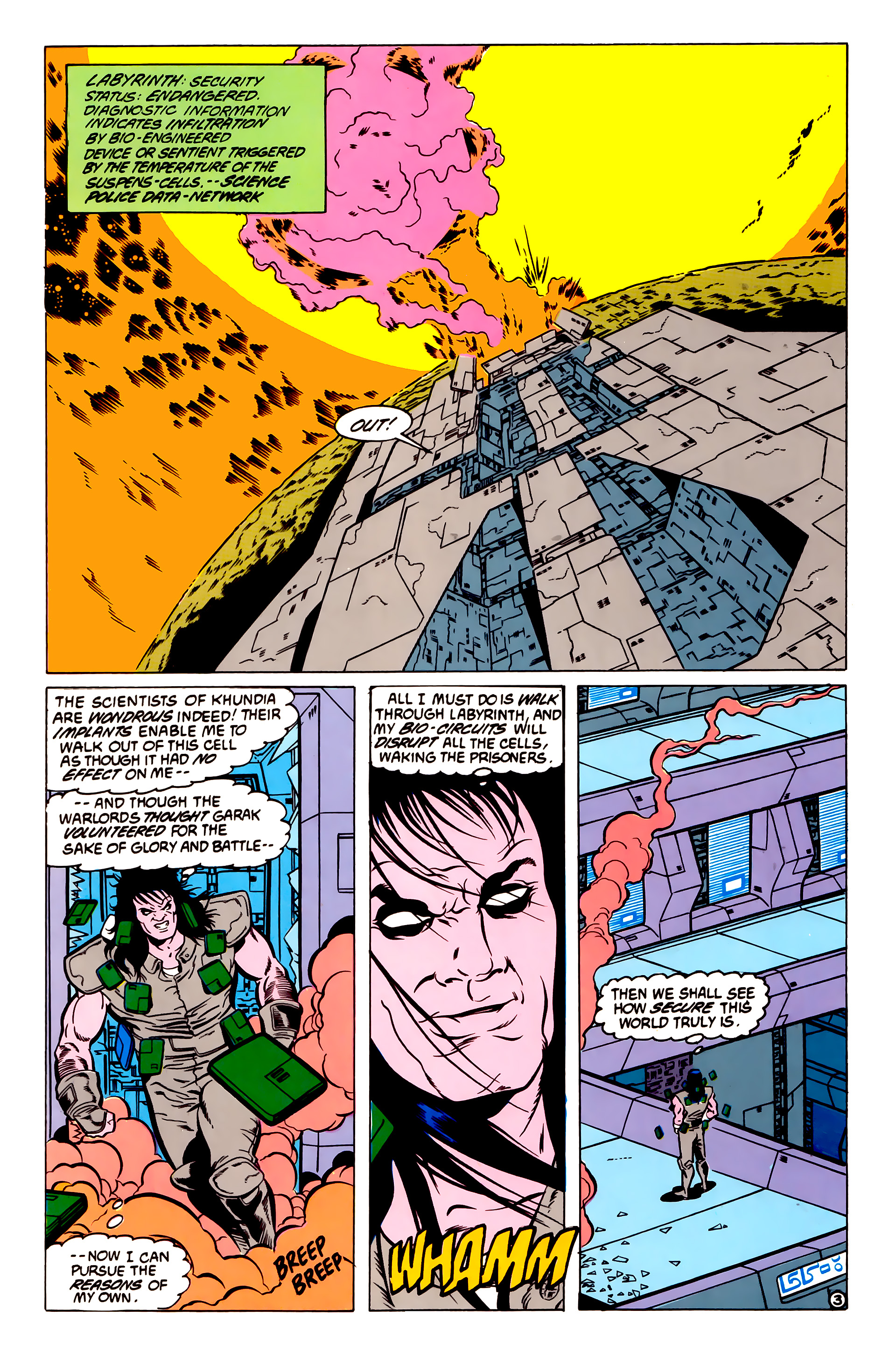 Legion of Super-Heroes (1984) 54 Page 3