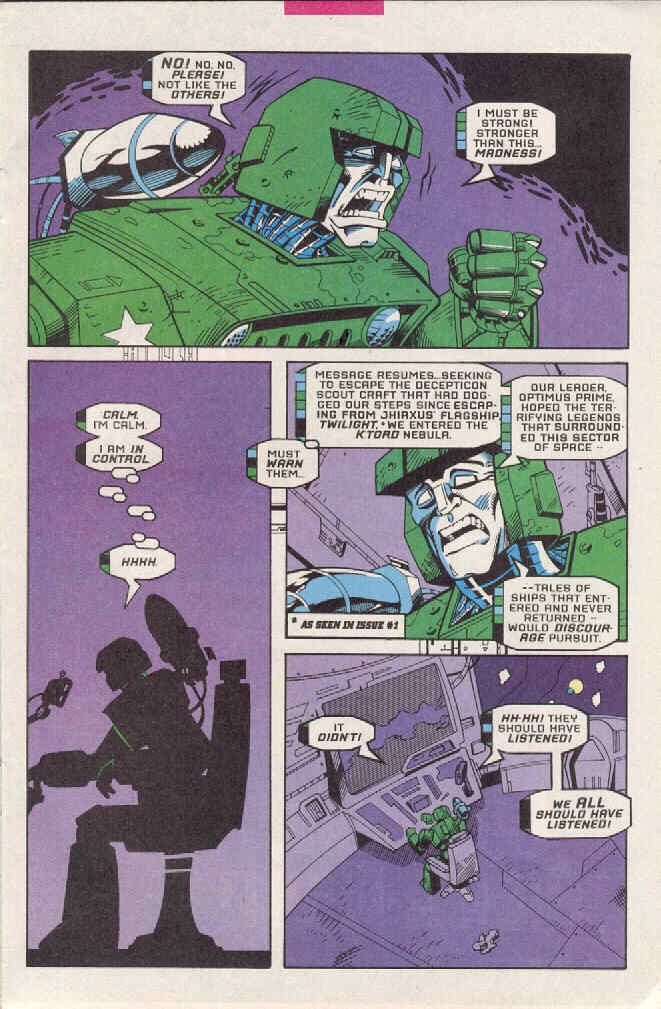 Read online Transformers: Generation 2 comic -  Issue #3 - 8