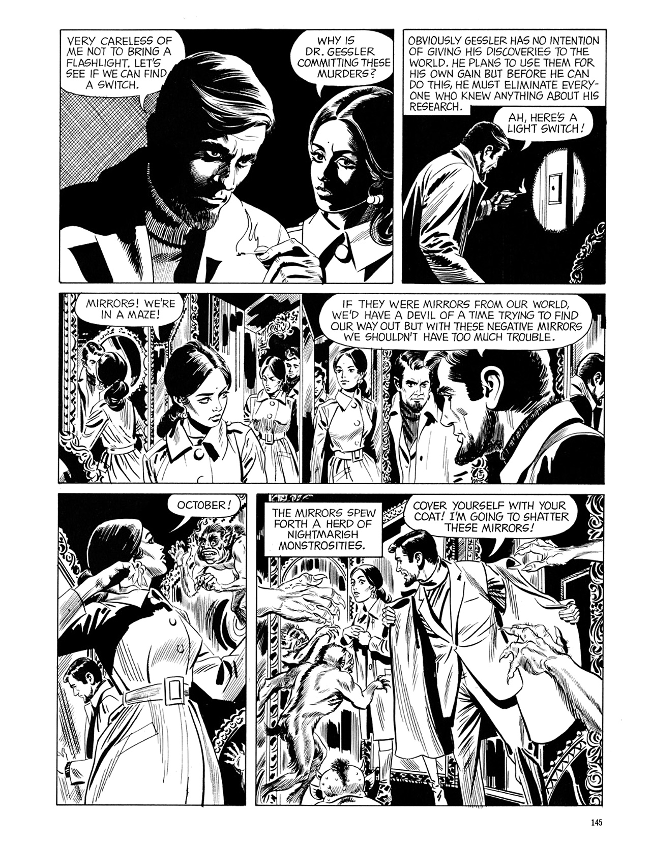 Read online Eerie Archives comic -  Issue # TPB 6 - 145