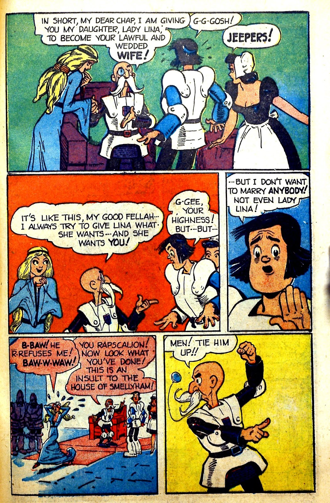 Read online Famous Funnies comic -  Issue #166 - 47