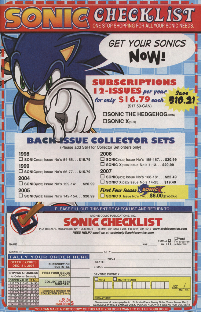 Read online Sonic X comic -  Issue #38 - 33