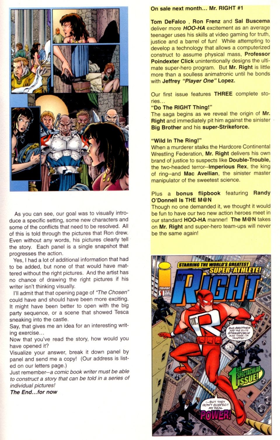 Read online Randy O'Donnell is The M@N comic -  Issue #2 - 27