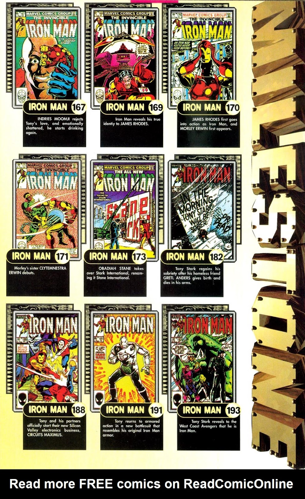 Read online Iron Man: The Legend comic -  Issue # Full - 11