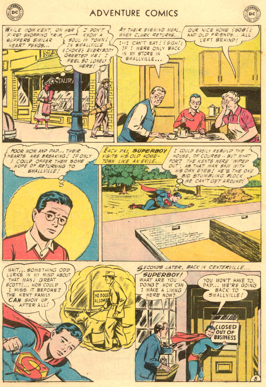 Read online Adventure Comics (1938) comic -  Issue #229 - 10