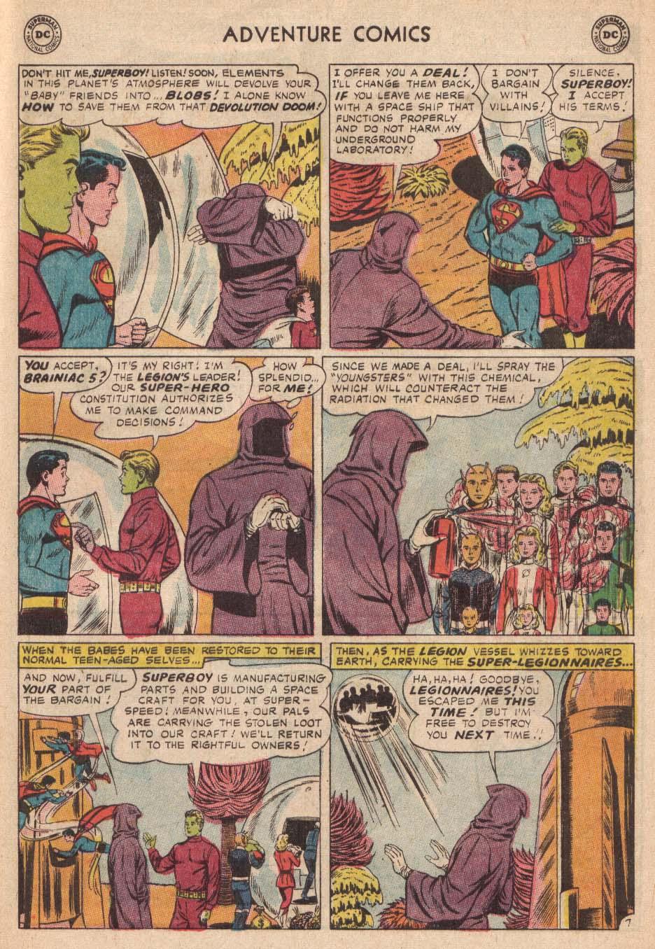 Read online Adventure Comics (1938) comic -  Issue #338 - 21
