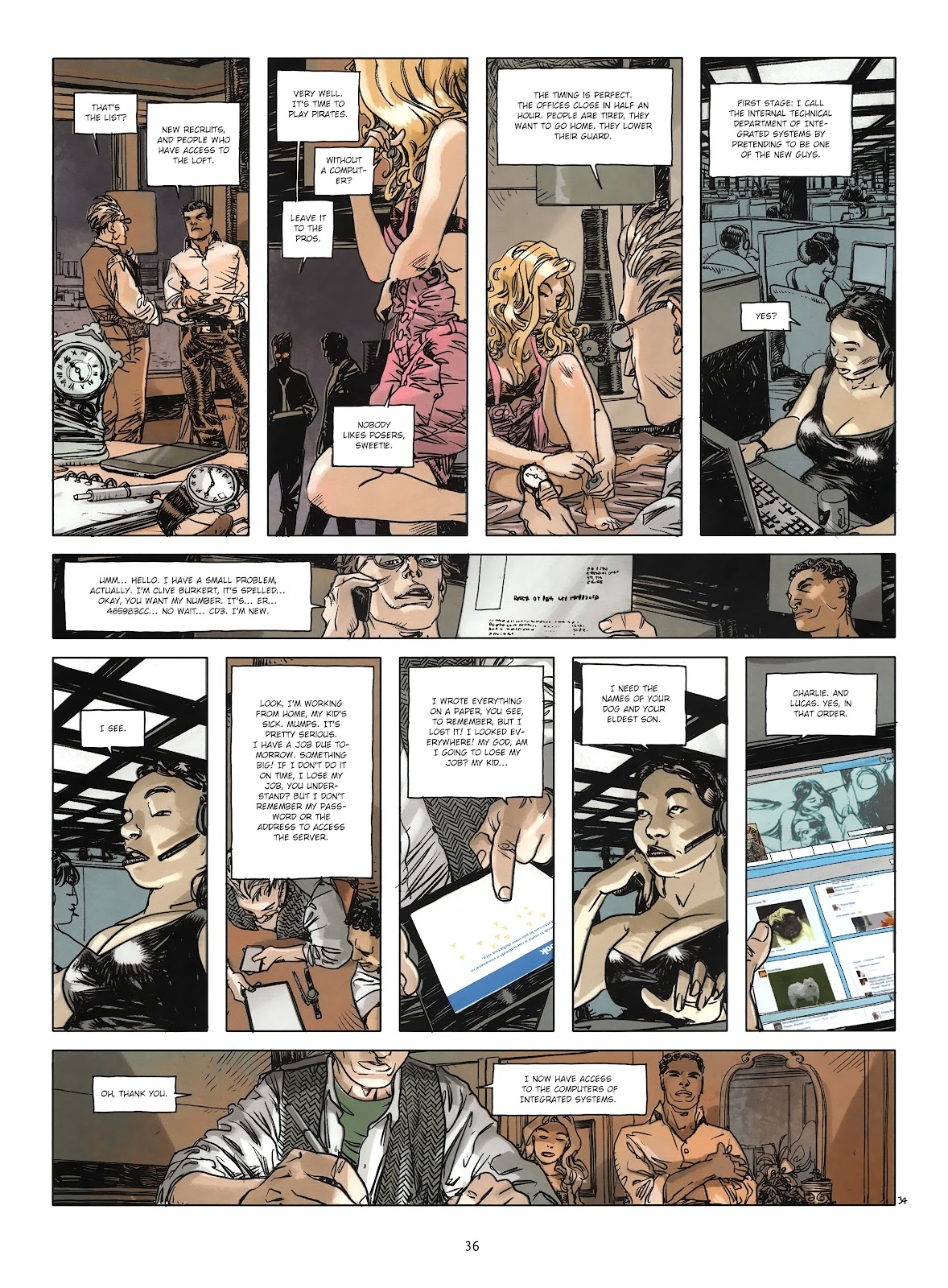 Read online Cutting Edge (2013) comic -  Issue #3 - 33
