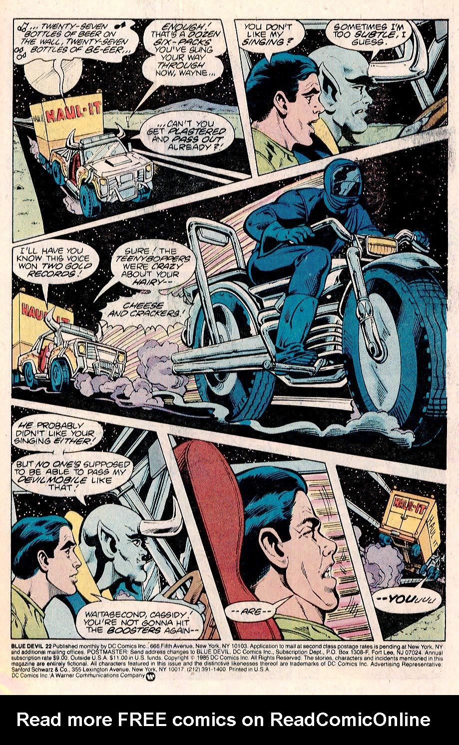 Blue Devil 22 Page 2
