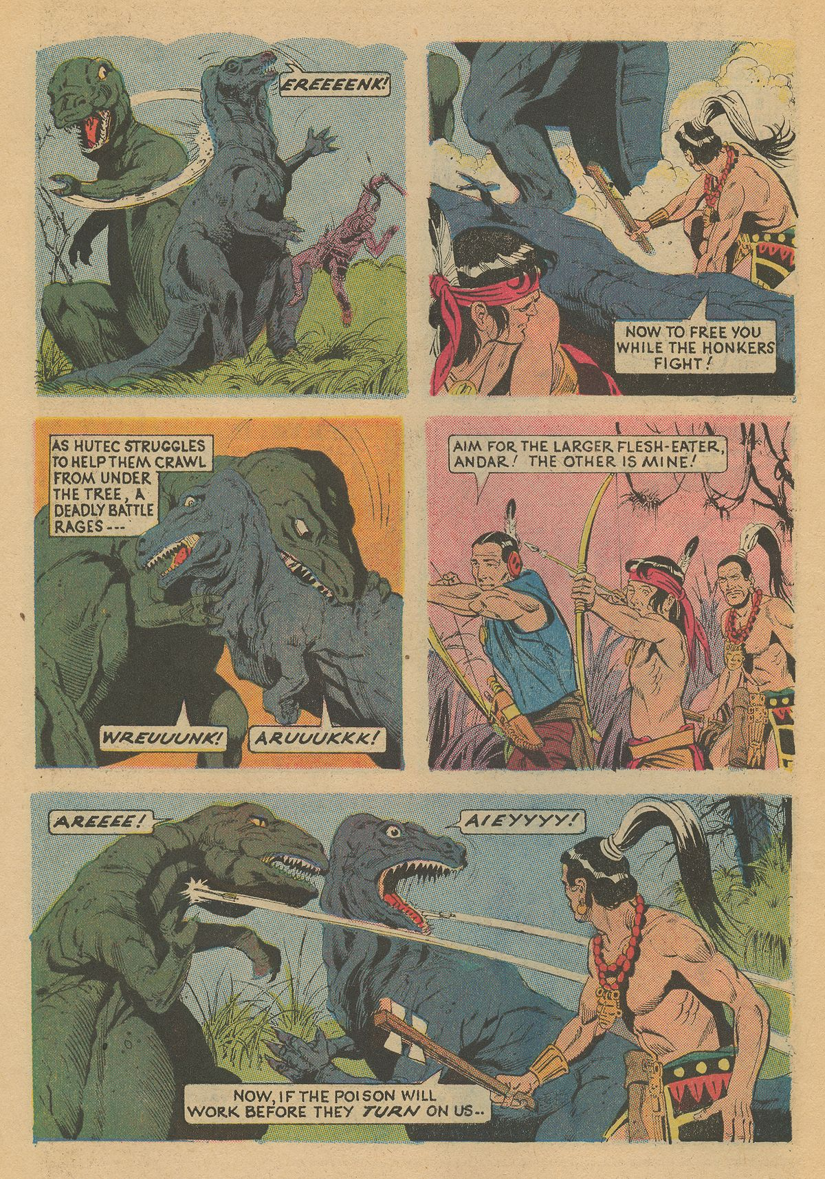Read online Turok, Son of Stone comic -  Issue #86 - 6