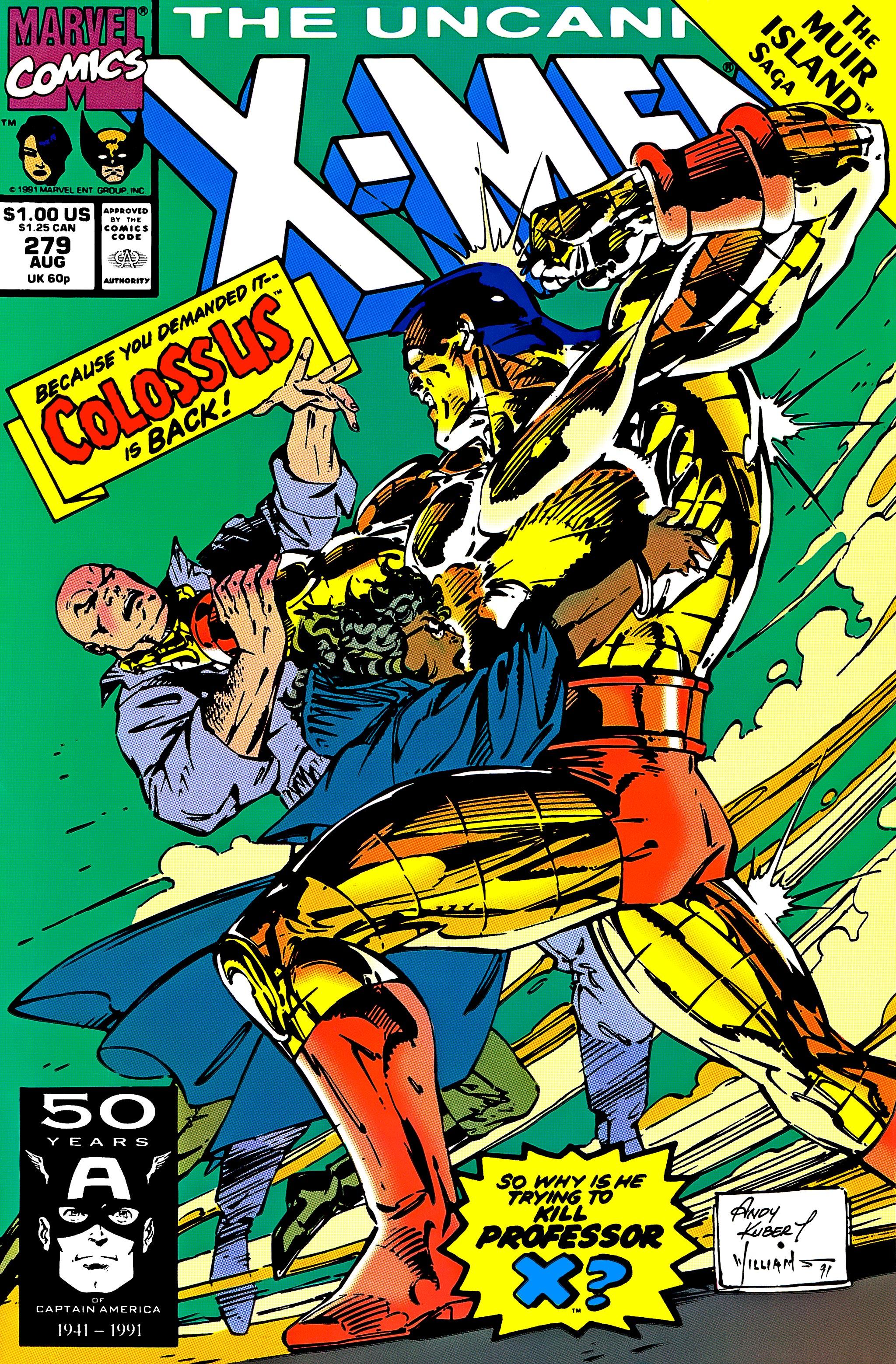 Uncanny X-Men (1963) 279 Page 1