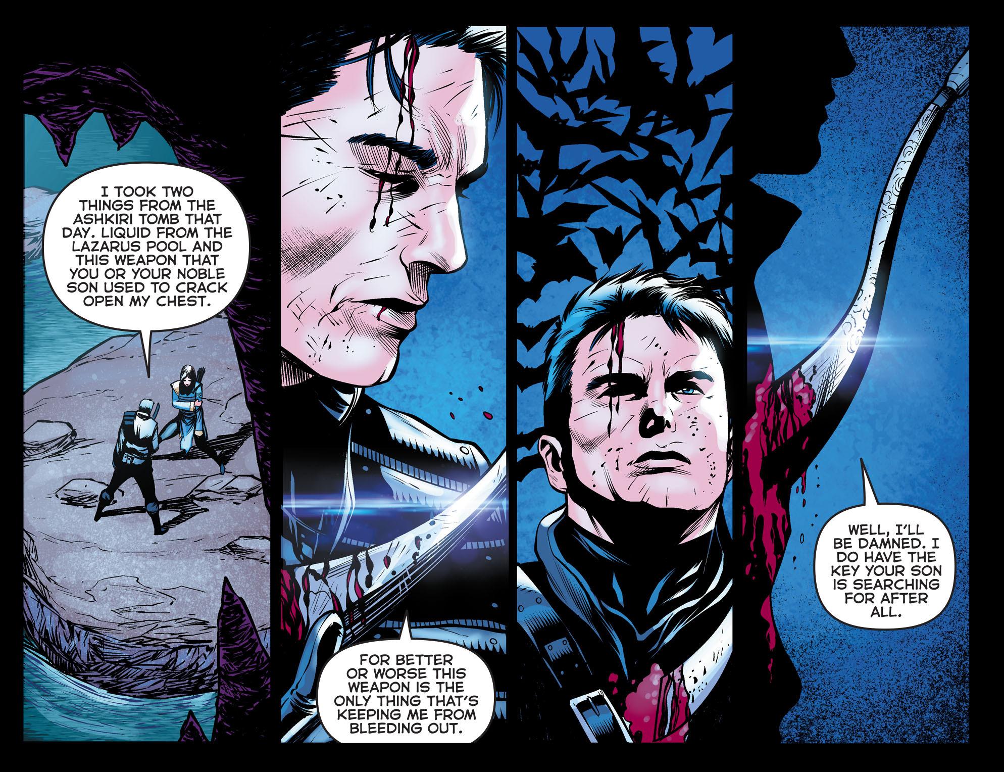 Read online Arrow: The Dark Archer comic -  Issue #10 - 18