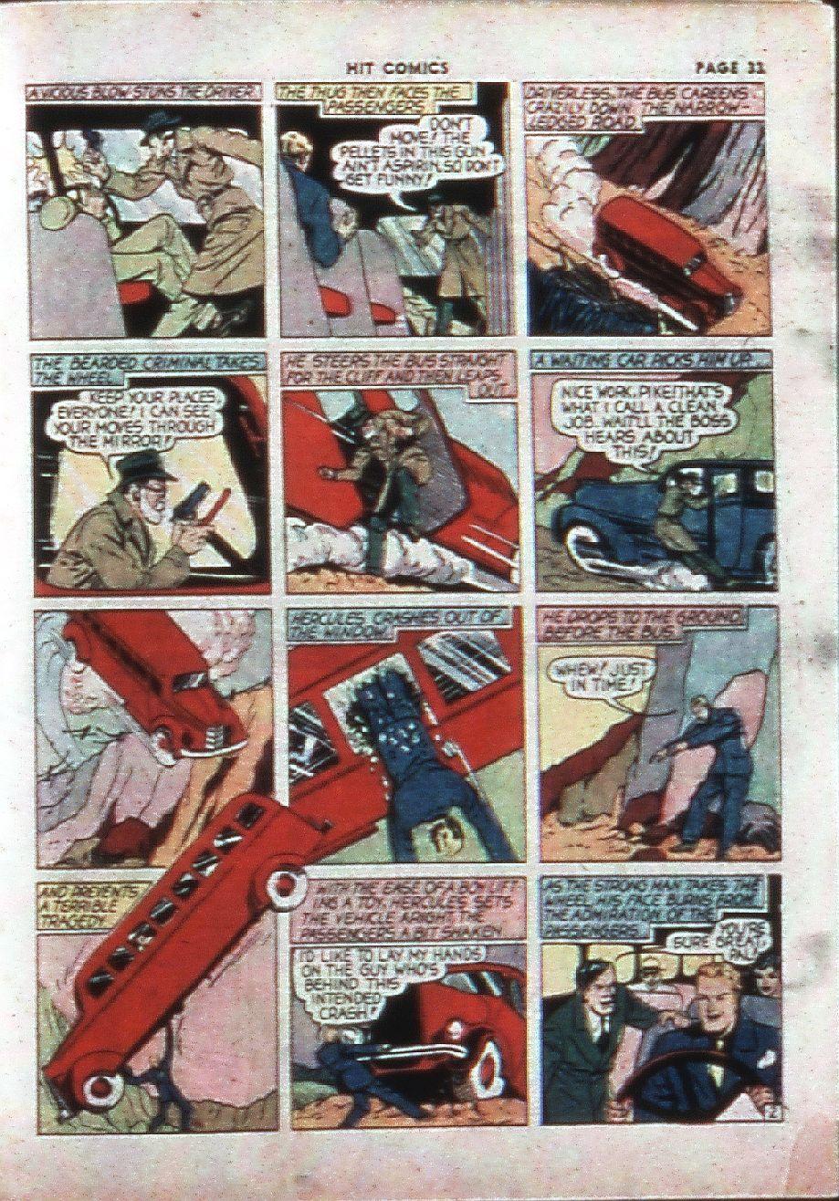 Read online Hit Comics comic -  Issue #4 - 35