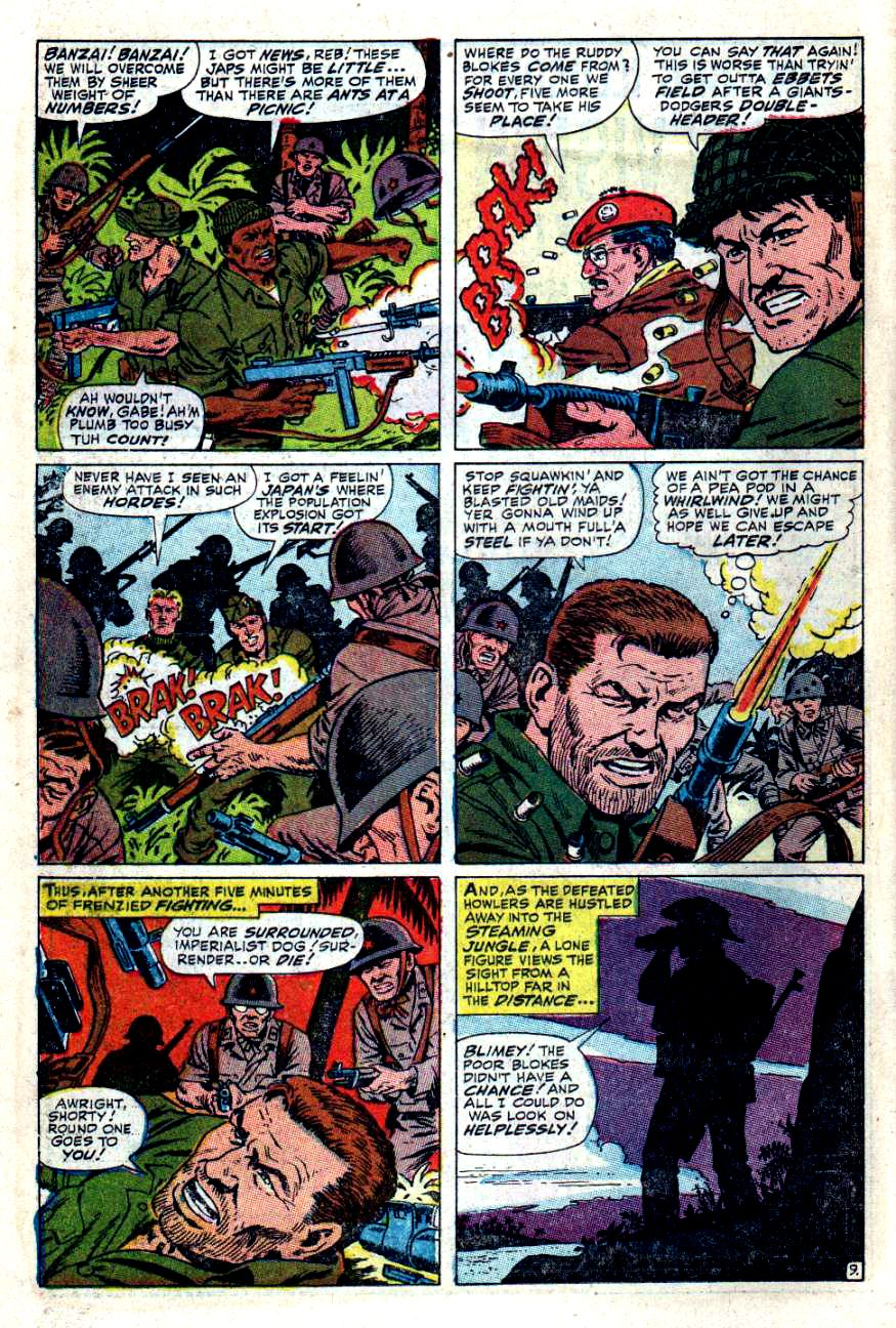 Read online Sgt. Fury comic -  Issue #49 - 14