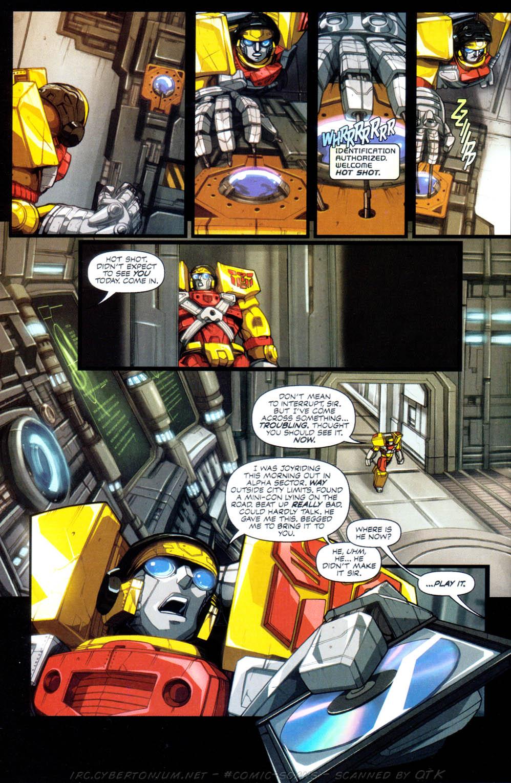 Read online Transformers Armada comic -  Issue #1 - 9