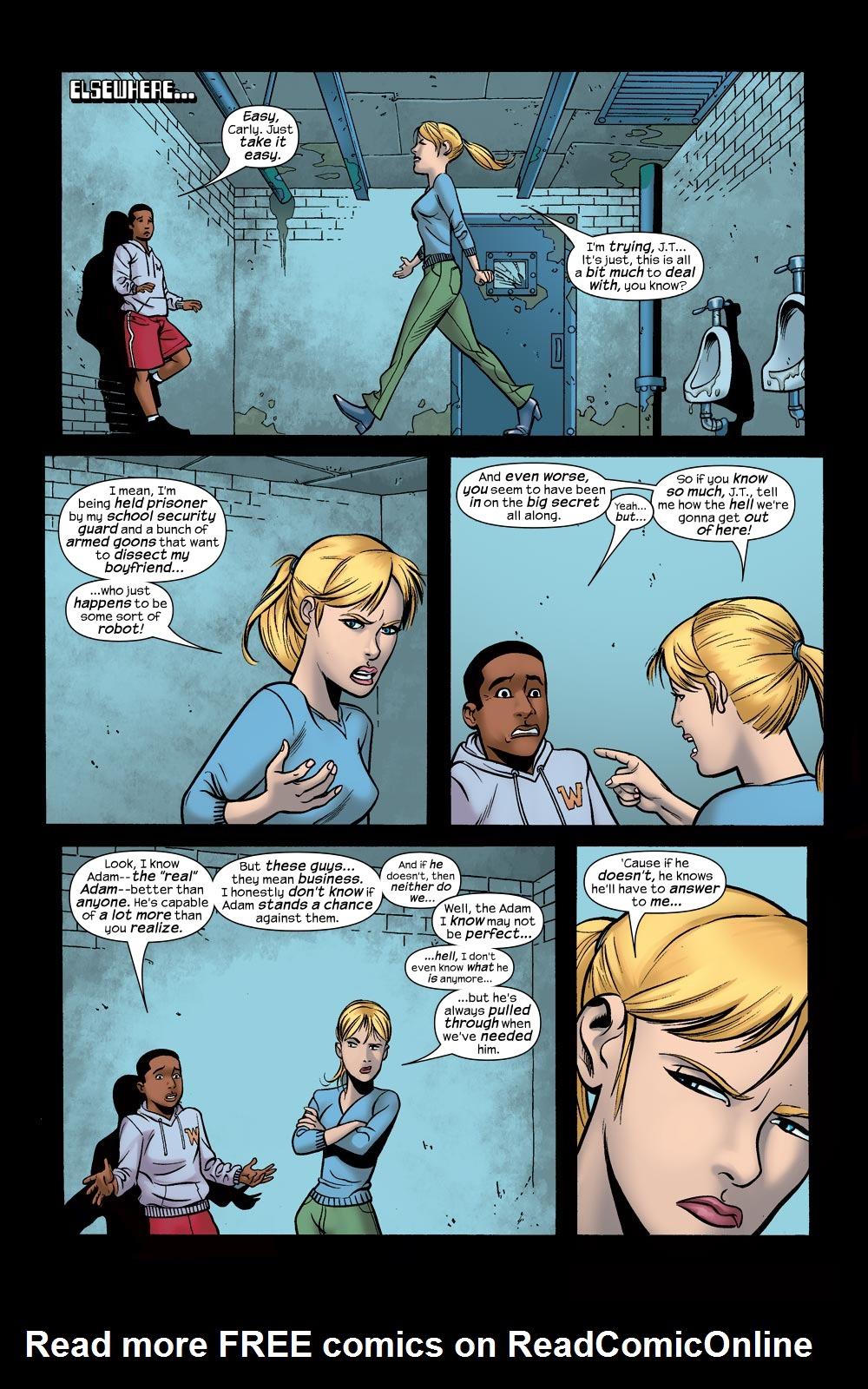 Read online Machine Teen comic -  Issue #5 - 8