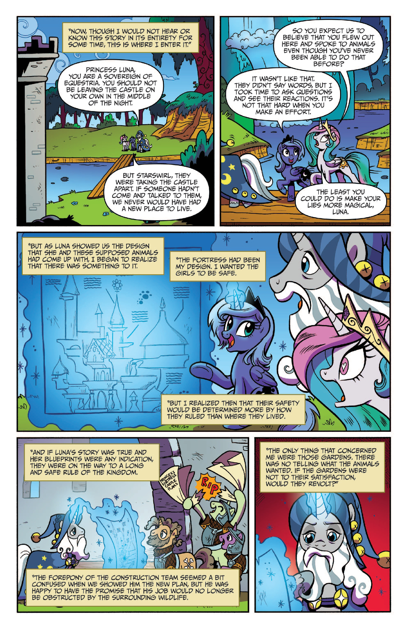 Read online My Little Pony: Legends of Magic comic -  Issue #3 - 18