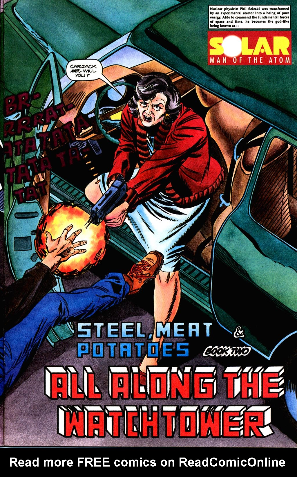 Read online Solar, Man of the Atom comic -  Issue #45 - 5