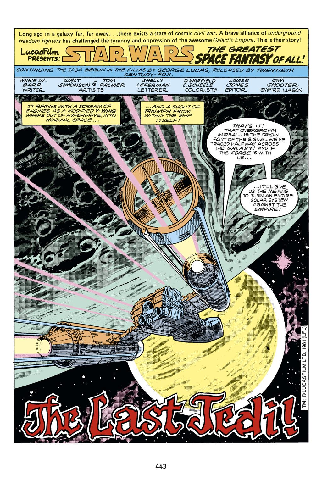 Read online Star Wars Omnibus comic -  Issue # Vol. 14 - 436