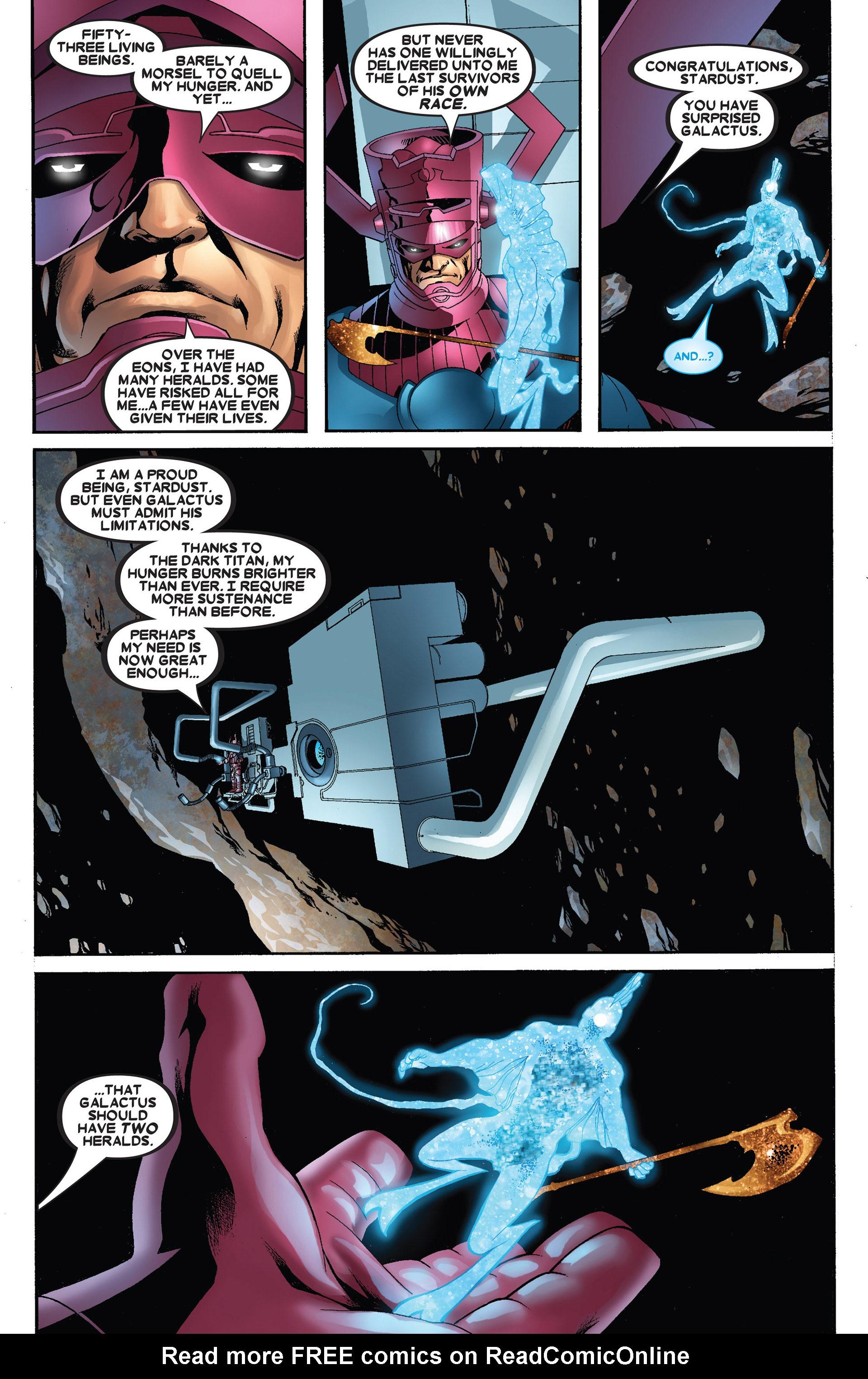 Read online Annihilation: Heralds Of Galactus comic -  Issue #1 - 37