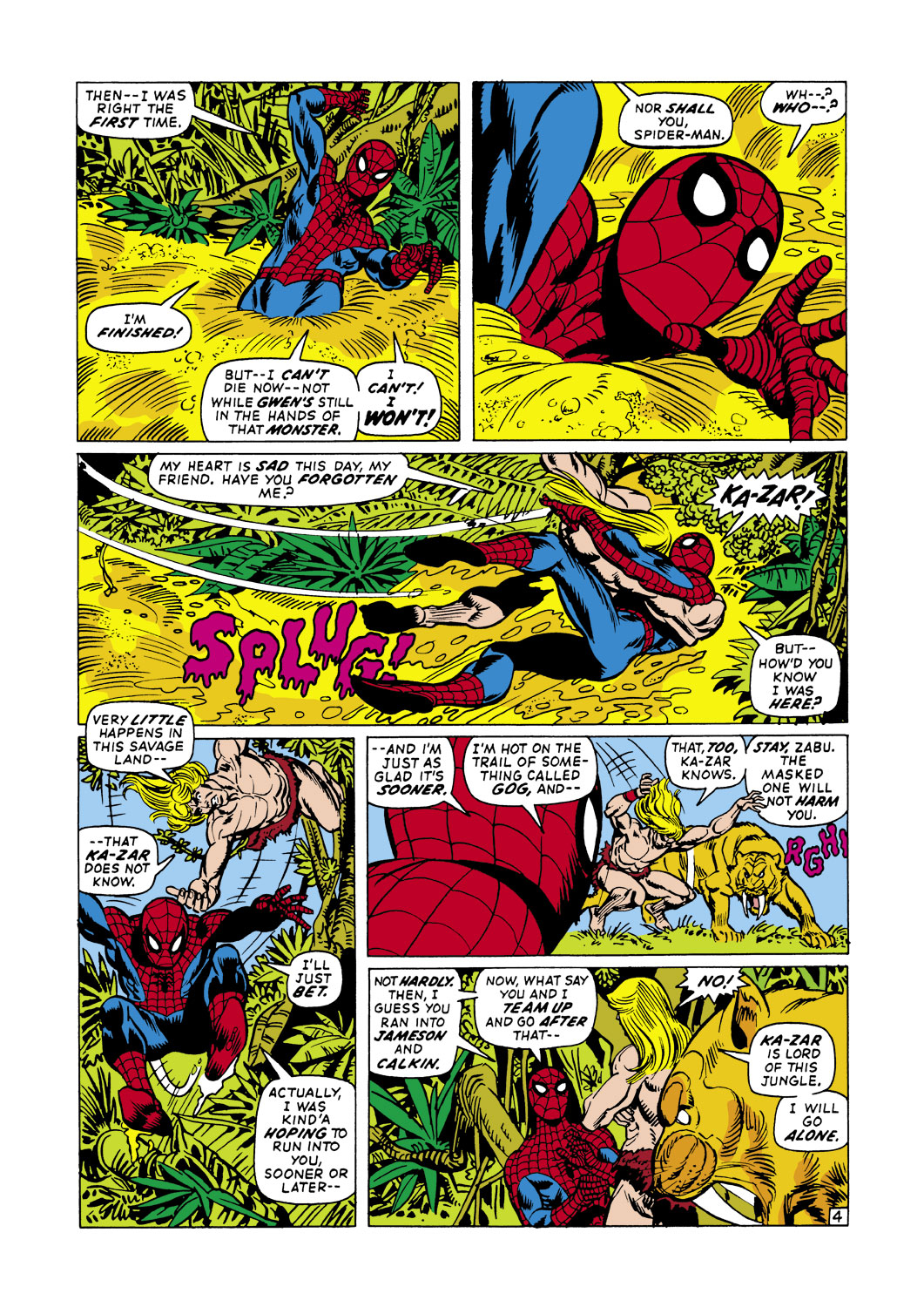 The Amazing Spider-Man (1963) 104 Page 4