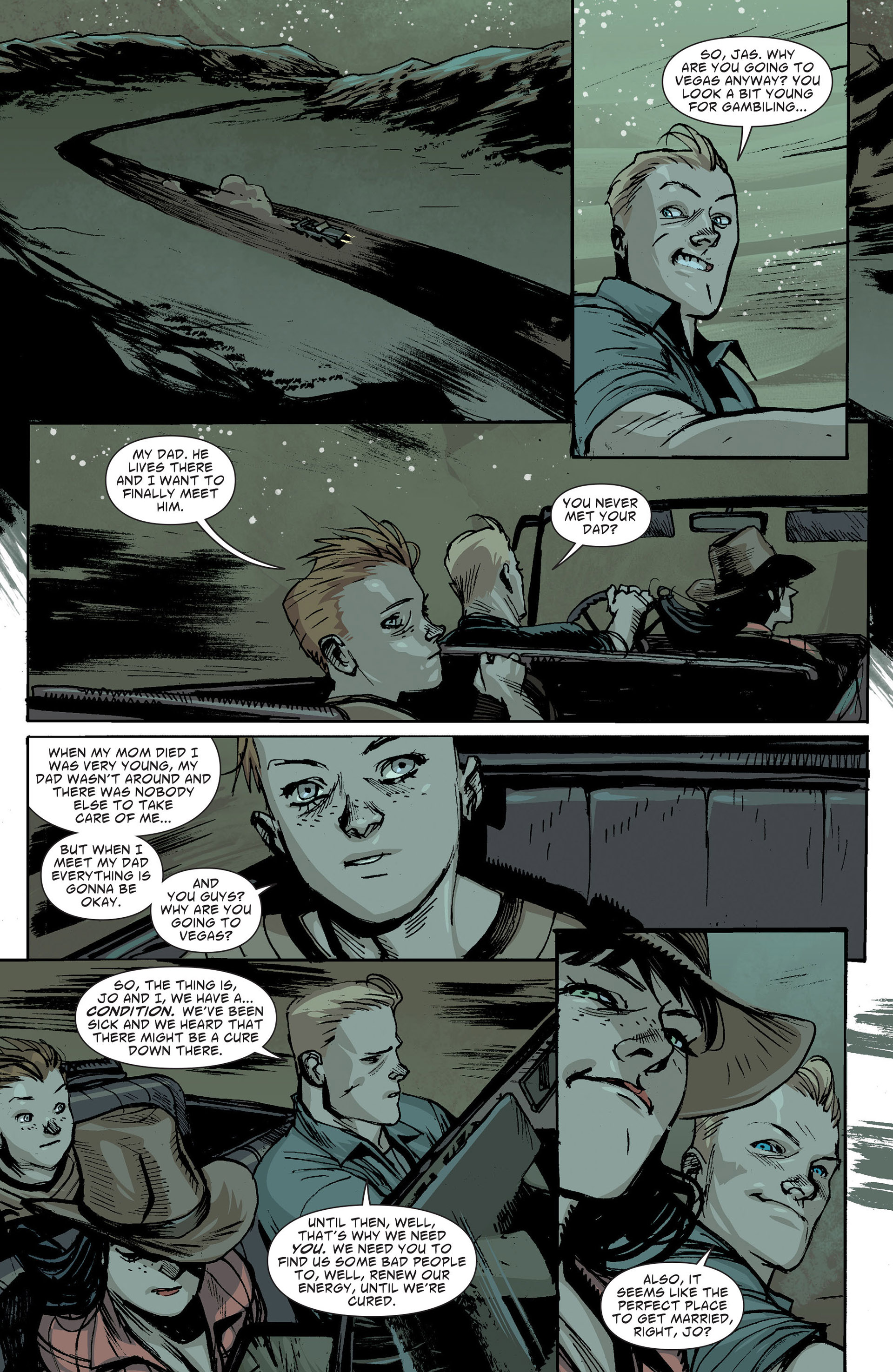Read online American Vampire: The Long Road To Hell comic -  Issue # Full - 27