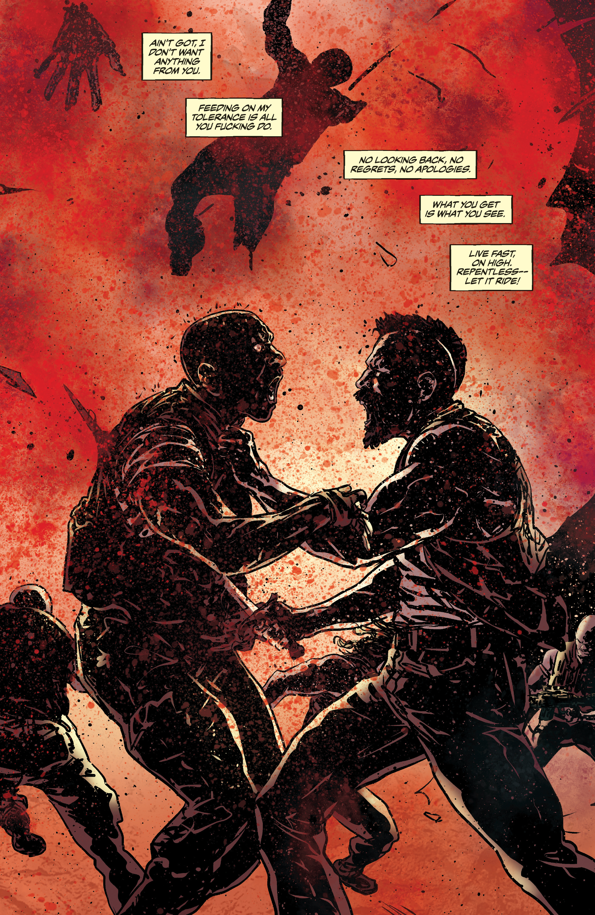 Read online Slayer: Repentless comic -  Issue #3 - 15