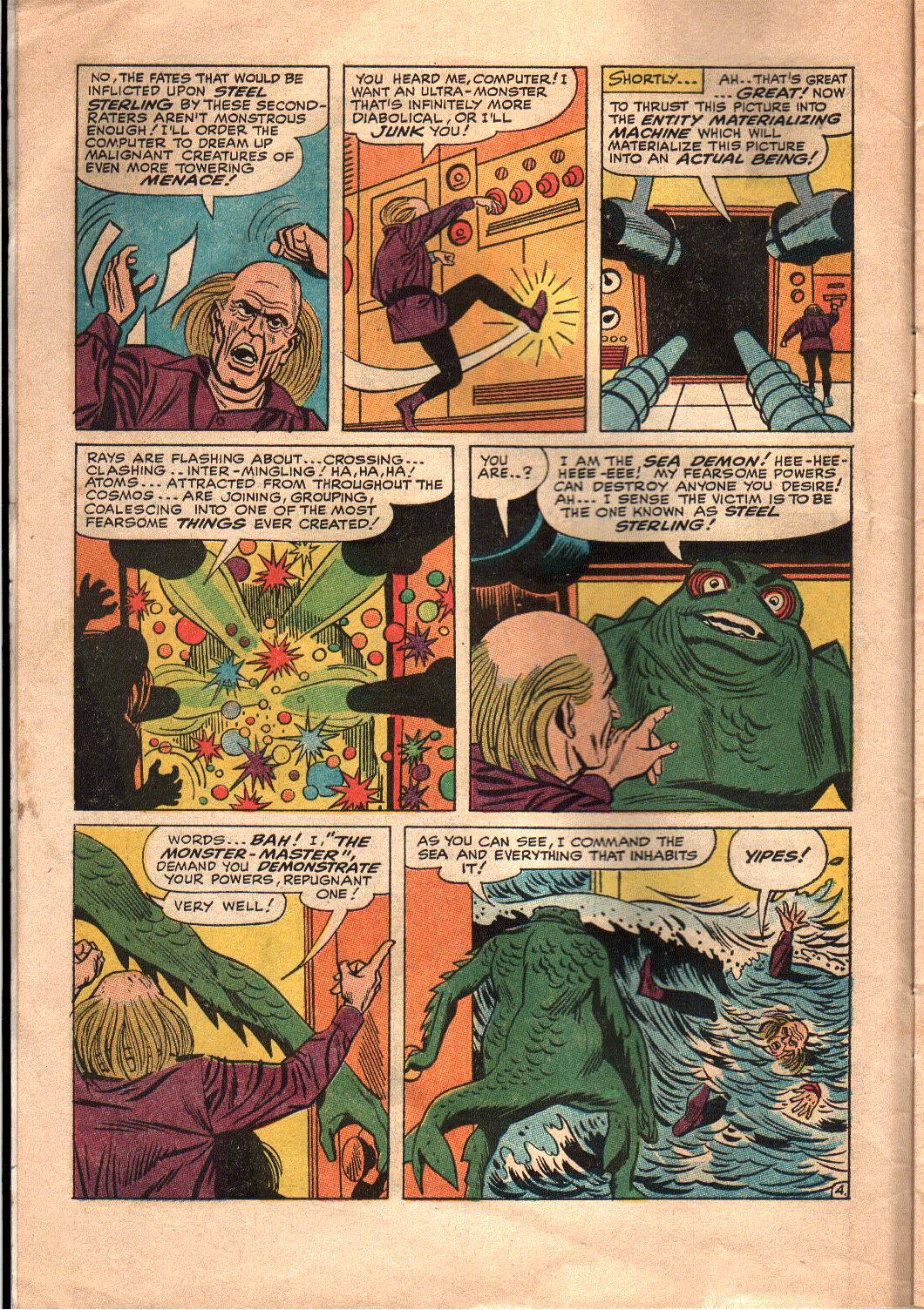 The Mighty Crusaders (1965) Issue #7 #7 - English 5