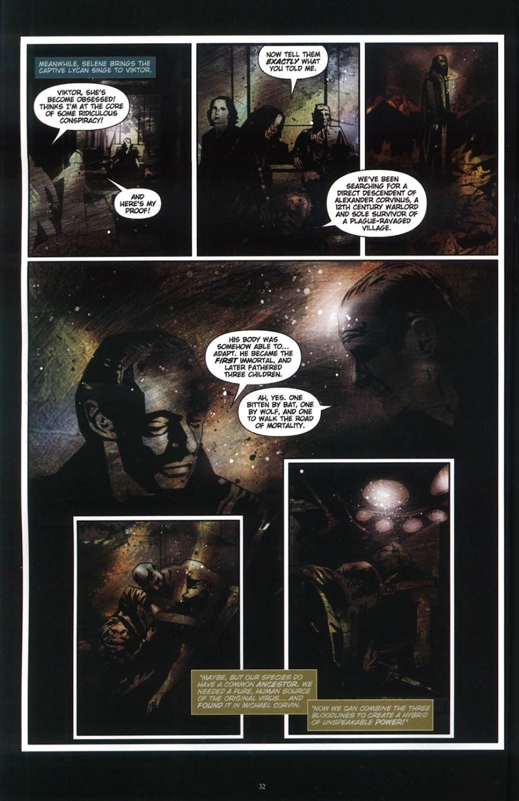 Read online Underworld (2003) comic -  Issue # Full - 34