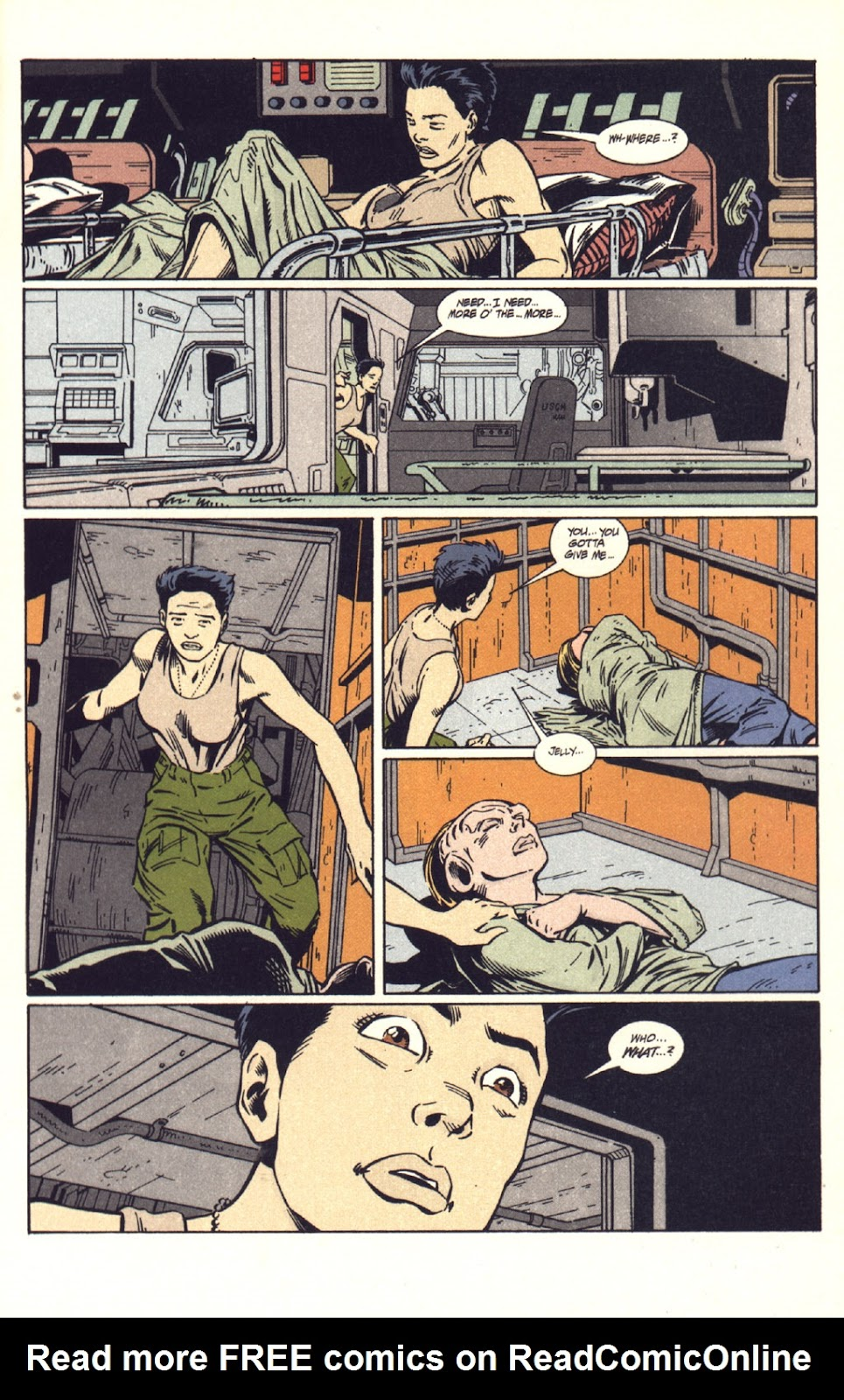 Read online Aliens: Colonial Marines comic -  Issue #9 - 18