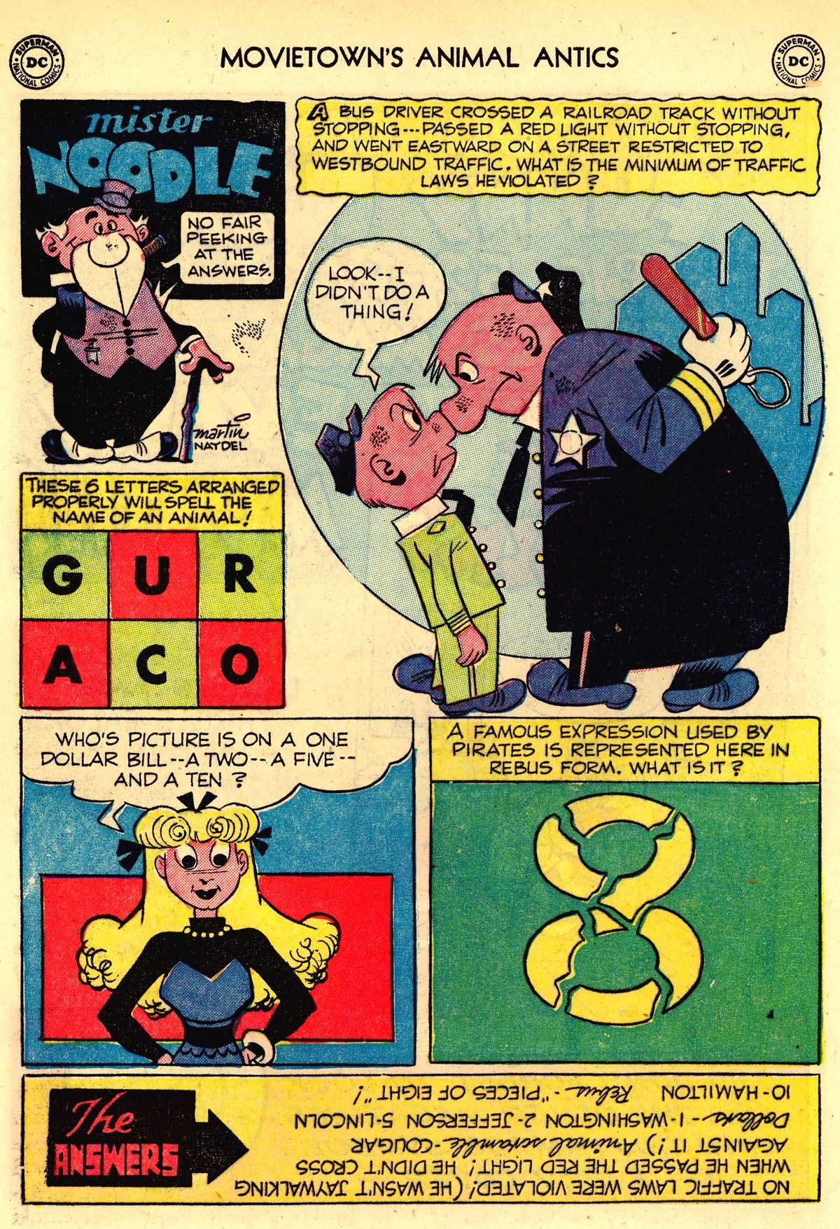 Read online Animal Antics comic -  Issue #33 - 42