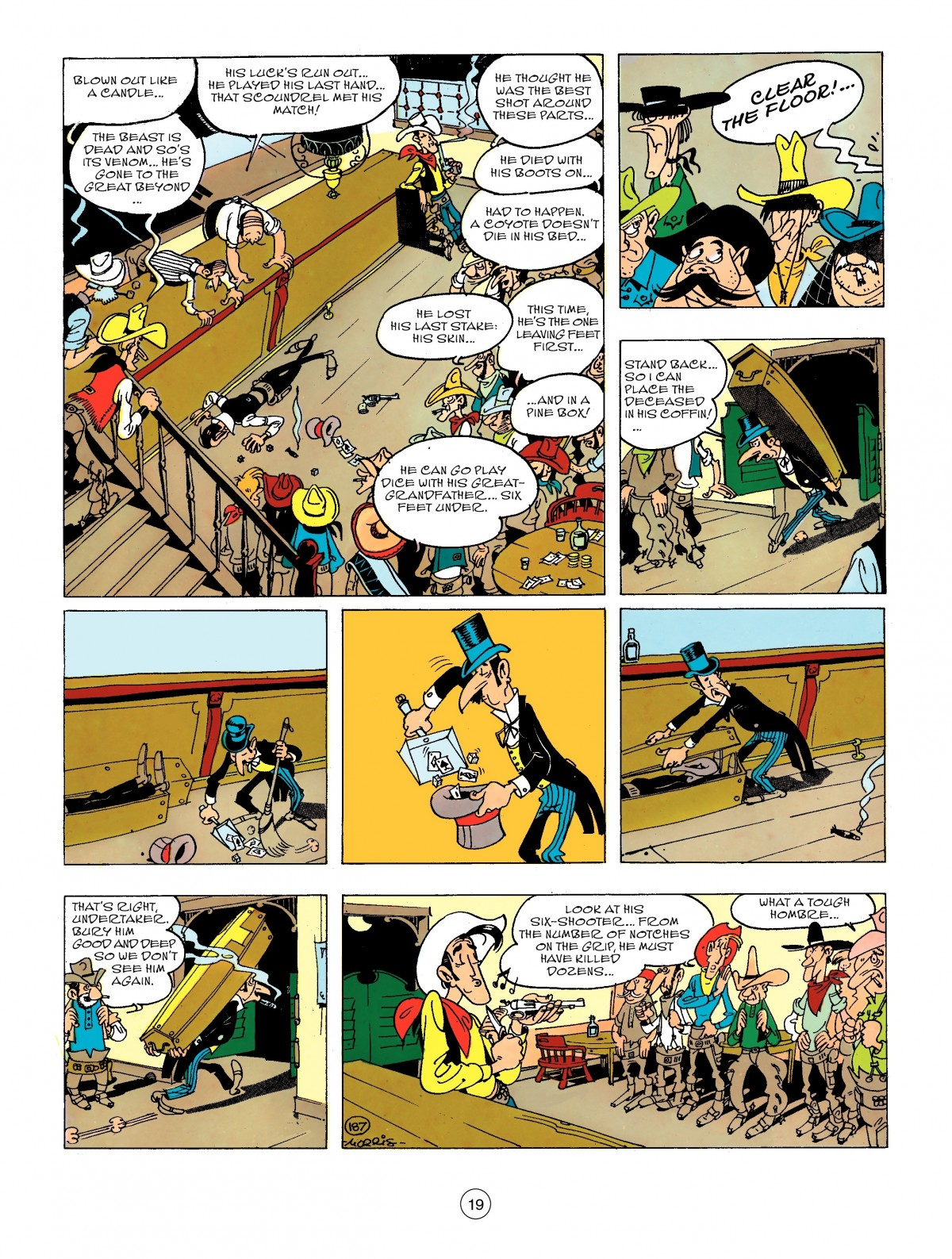 Read online A Lucky Luke Adventure comic -  Issue #44 - 19