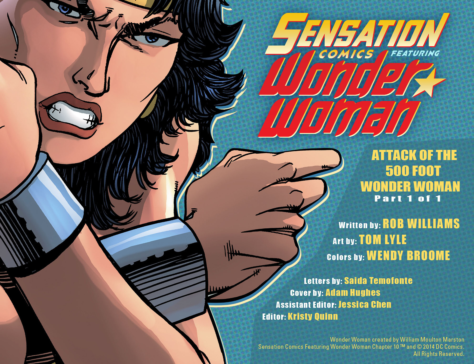 Read online Sensation Comics Featuring Wonder Woman comic -  Issue #10 - 2