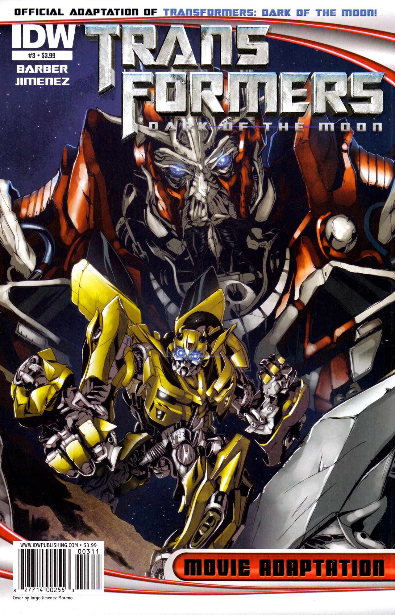 Read online Transformers: Dark of the Moon Movie Adaptation comic -  Issue #3 - 1