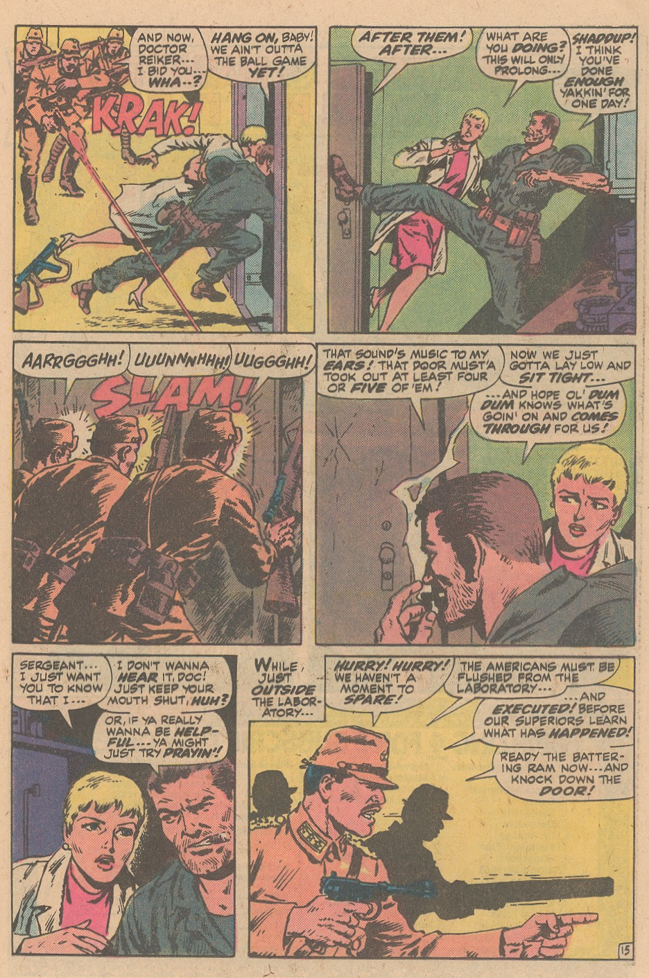 Read online Sgt. Fury comic -  Issue #161 - 21