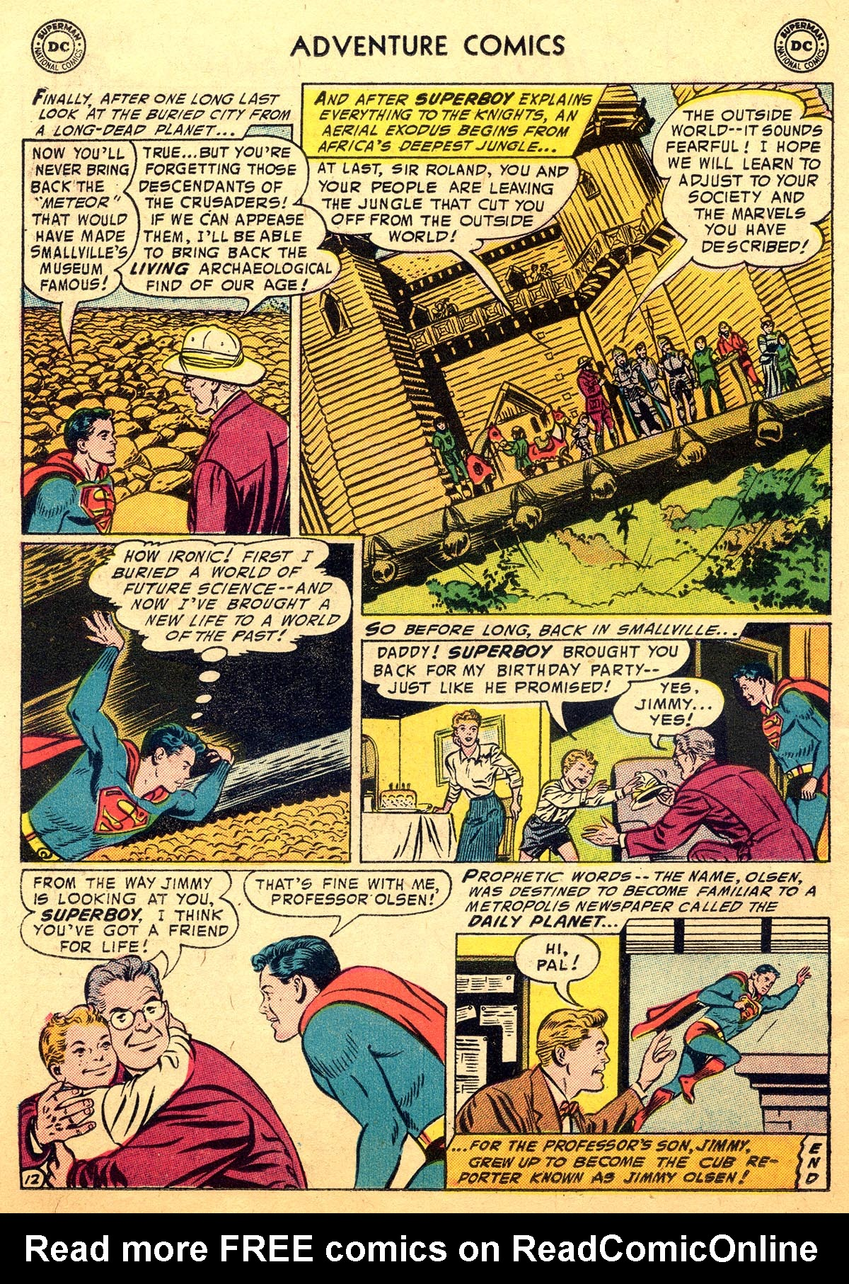 Read online Adventure Comics (1938) comic -  Issue #216 - 14