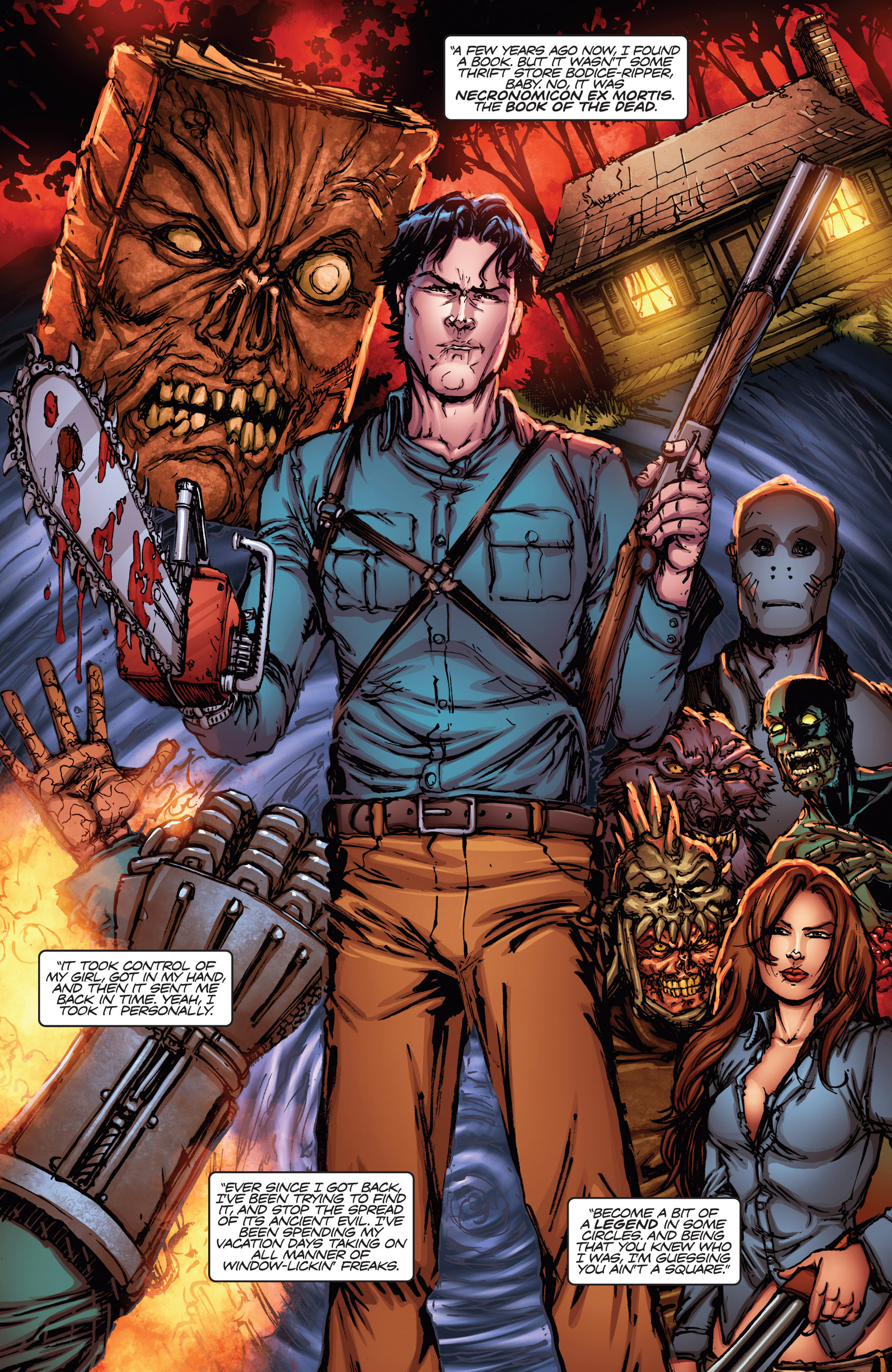 Read online Army of Darkness vs. Hack/Slash comic -  Issue #1 - 15