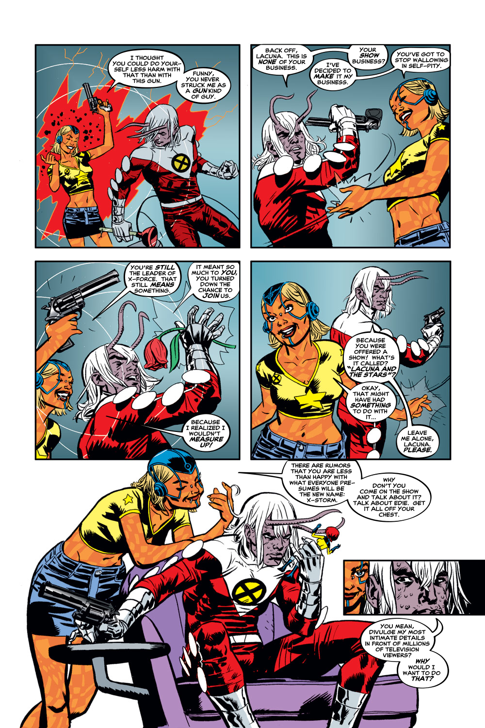 Read online X-Force (1991) comic -  Issue #129 - 19