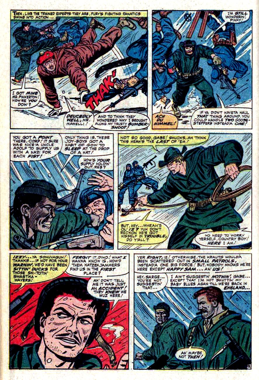 Read online Sgt. Fury comic -  Issue #32 - 14