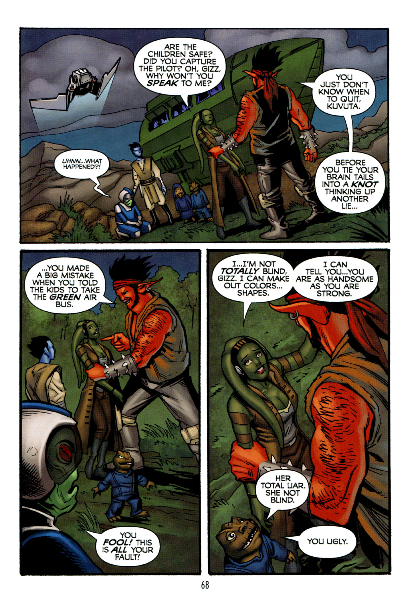 Read online Star Wars: The Clone Wars - Strange Allies comic -  Issue # Full - 69