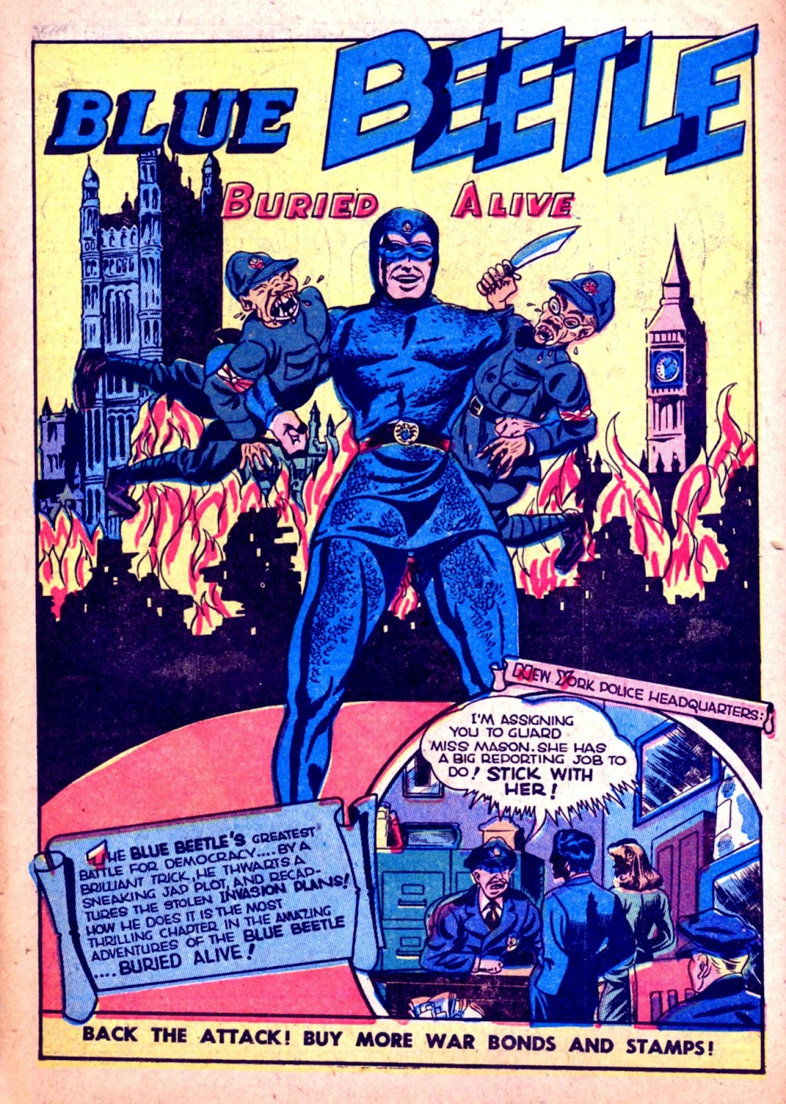 The Blue Beetle issue 31 - Page 39