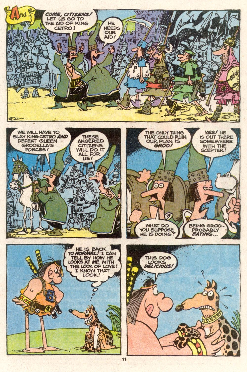 Read online Sergio Aragonés Groo the Wanderer comic -  Issue #74 - 8