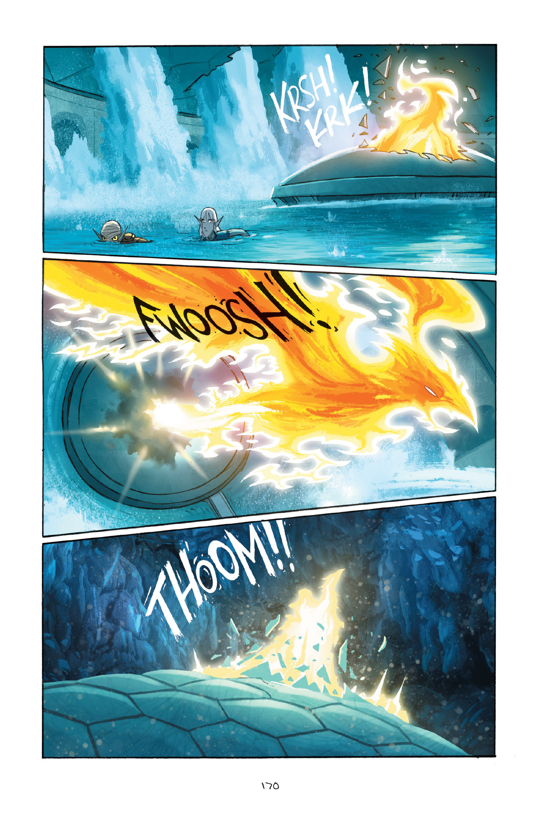 Read online Amulet comic -  Issue #7 - 170