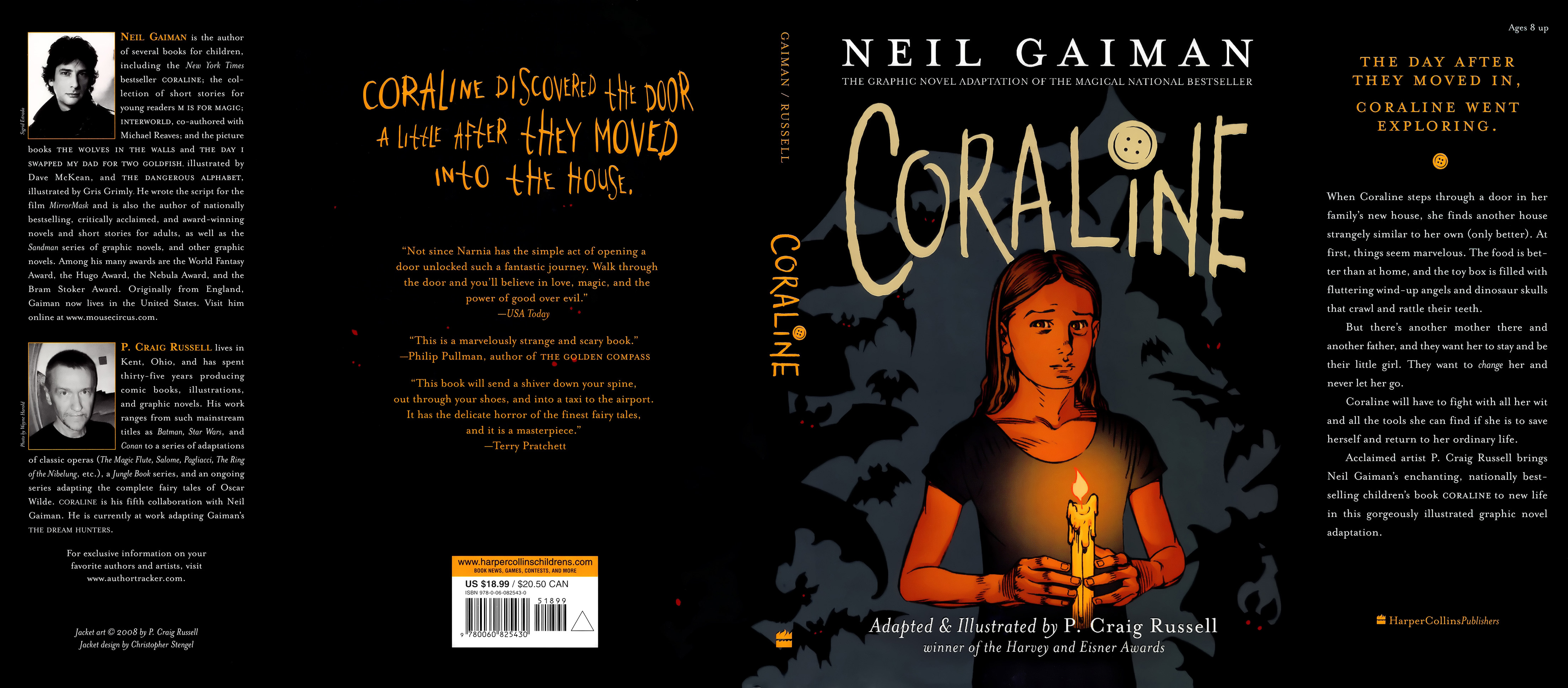 Read online Coraline comic -  Issue #1 - 193
