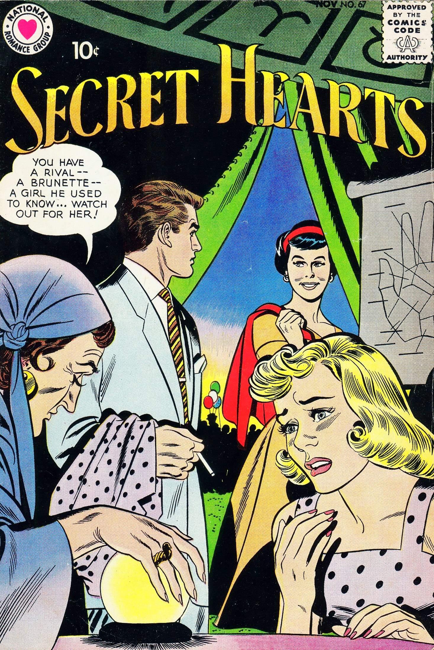 Read online Secret Hearts comic -  Issue #67 - 1