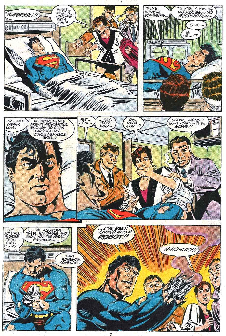 Read online Adventures of Superman (1987) comic -  Issue #439 - 8