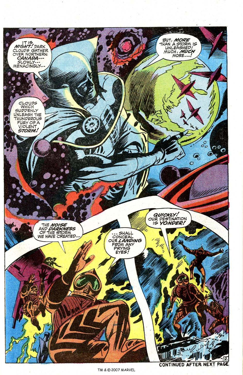 Read online Silver Surfer (1968) comic -  Issue #2 - 55