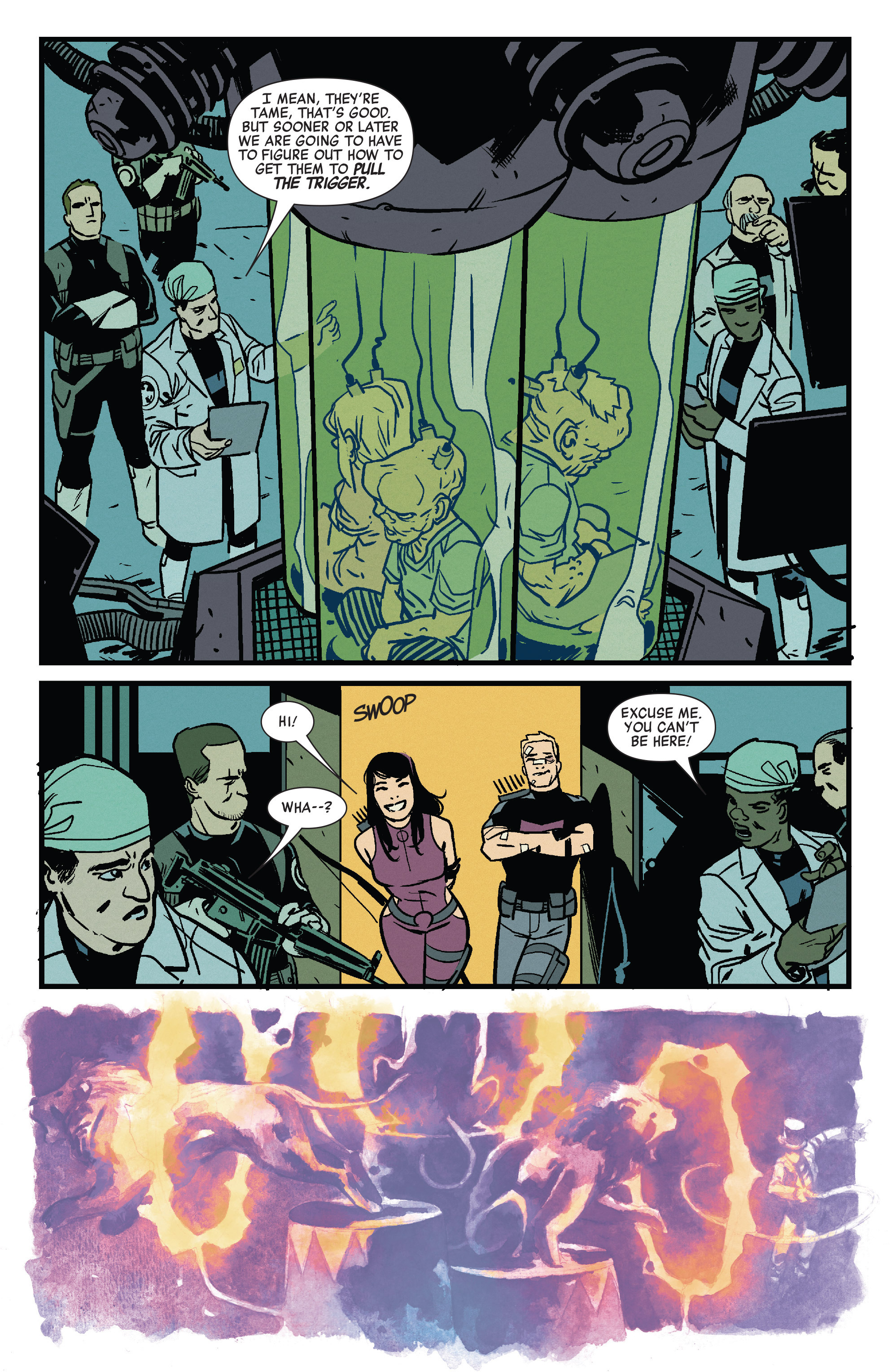 Read online All-New Hawkeye (2015) comic -  Issue #3 - 11