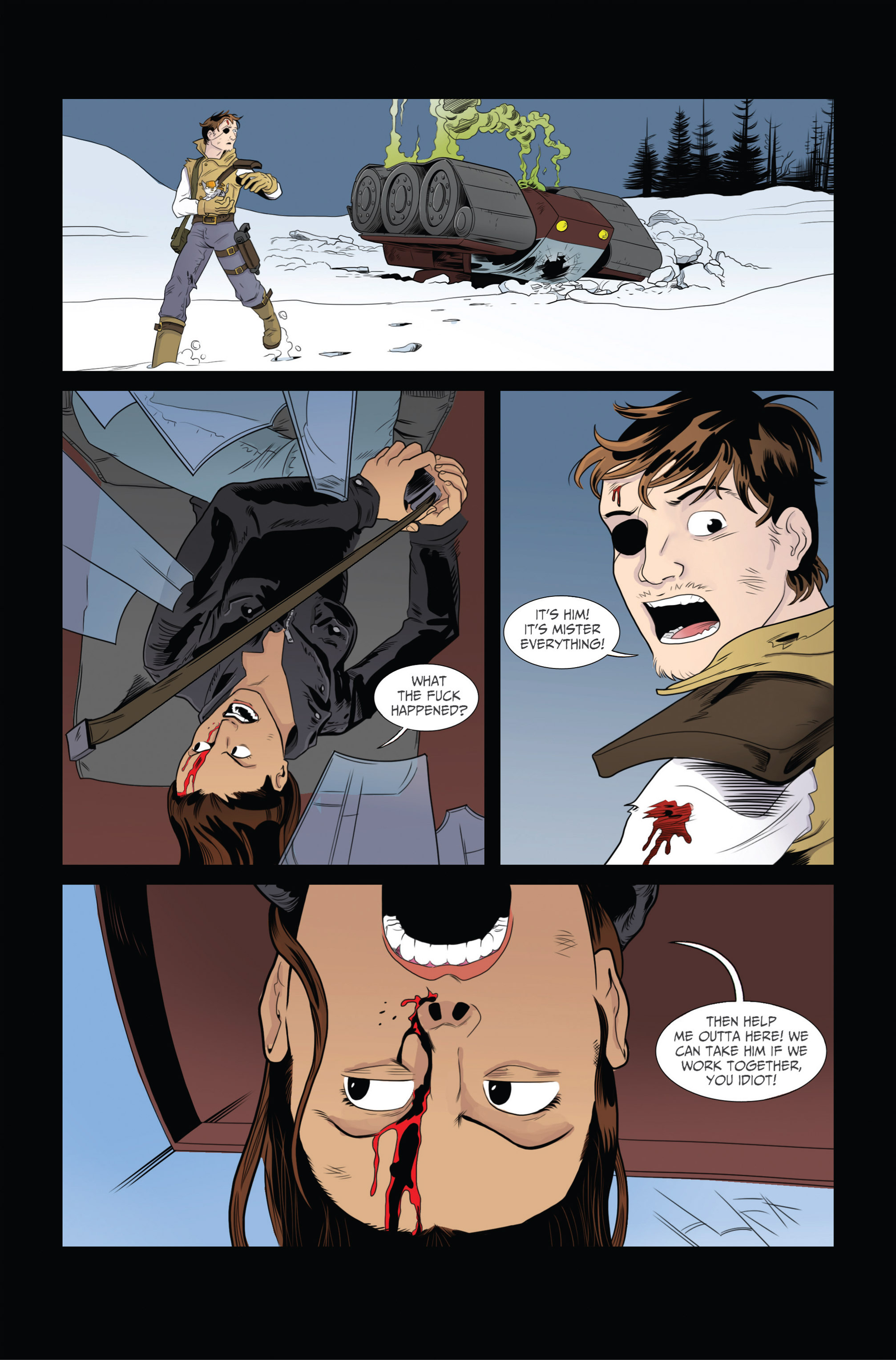 Read online Ehmm Theory: Everything & Small Doses comic -  Issue #2 - 22