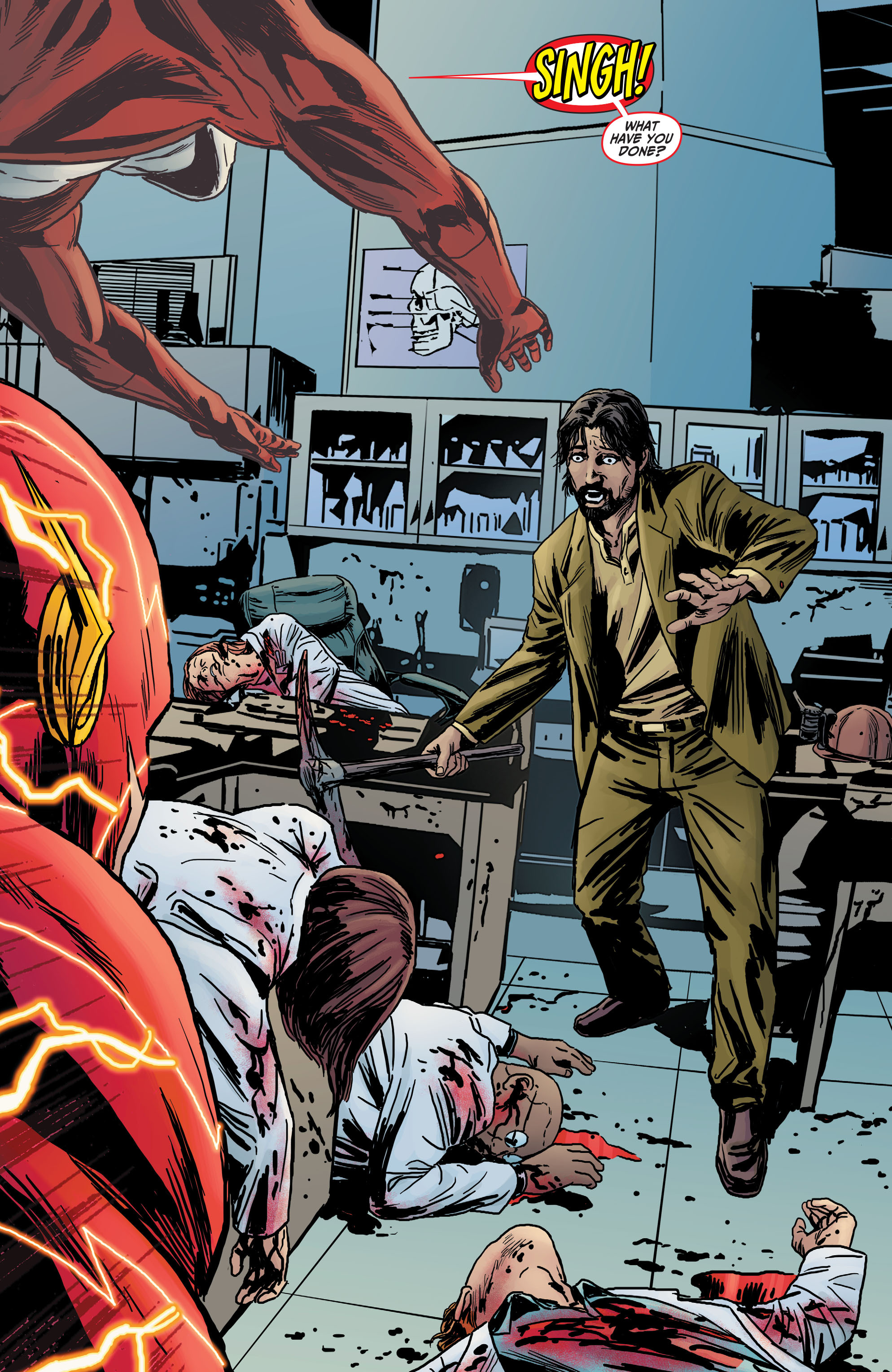 Read online The Flash (2011) comic -  Issue # _TPB 5 - 103